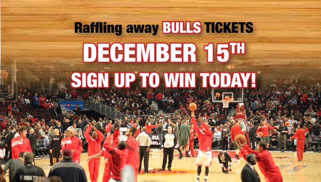 Chicago Bulls Ticket Raffle