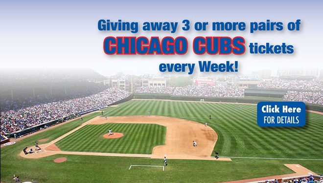 Chicago Cubs Ticket Raffle